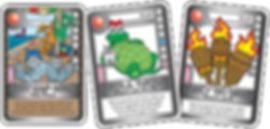 QUEST Pink Weapon Cards