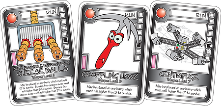 QUEST Red Weapon Cards