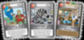 QUEST Khaki Weapon Cards