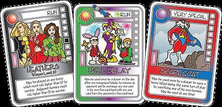 CONQUEST Violet Cards