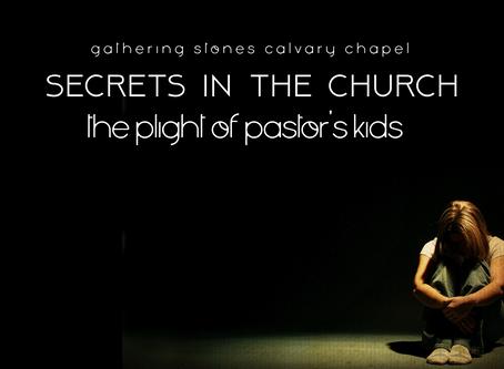 SECRETS IN THE CHURCH