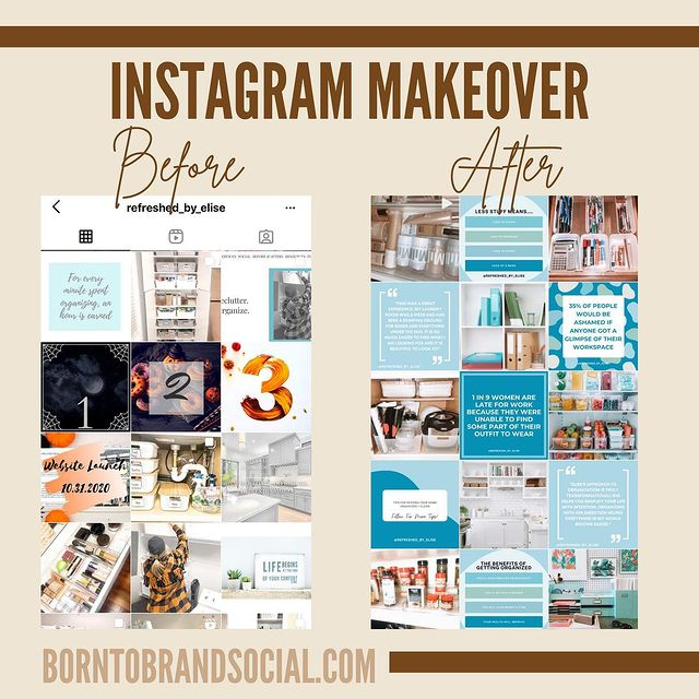 IG Makeover for Refreshed By Elise