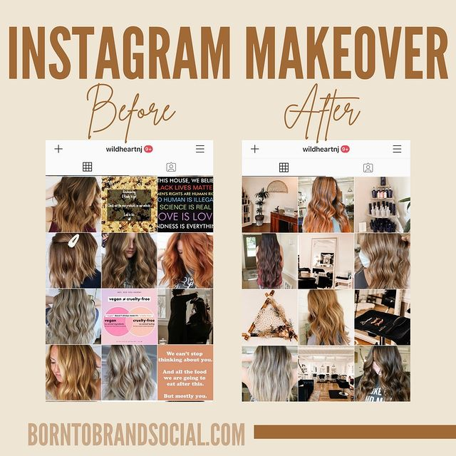 IG Makeover for Wild Heart Hair NJ