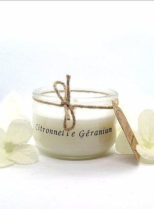 Bougie Citronnelle Géranium