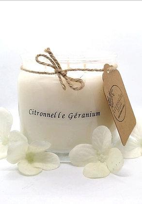 Edition Limitée - Bougie Citronnelle Géranium 3 mèches