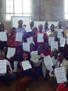 Micro enterprise course graduates 2016