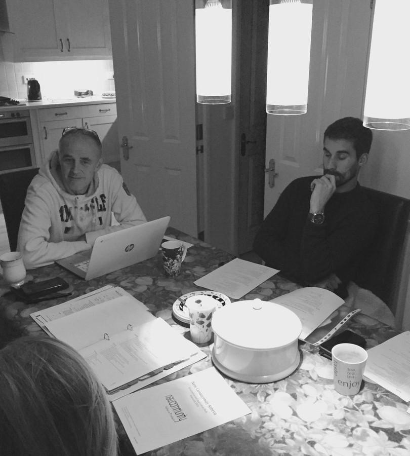 Pre-trip planning meeting 2016
