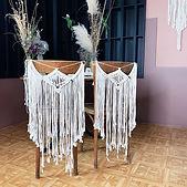 Makramee Hochzeitsdeko Verleih