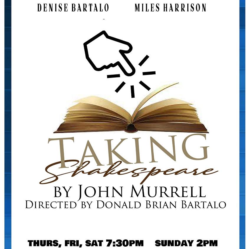 Taking Shakespeare By John Murrell