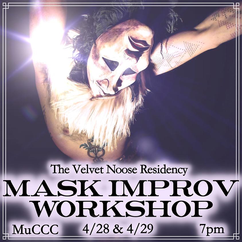 cancelled-Mask Work Improv Workshops at MuCCC!