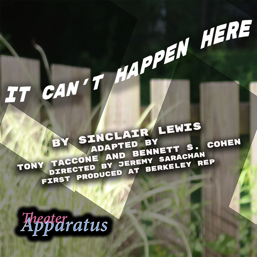 postponed It Can't Happen Here By Sinclair Lewis