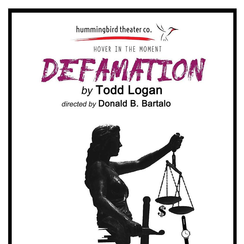 Defamation By Todd Logan