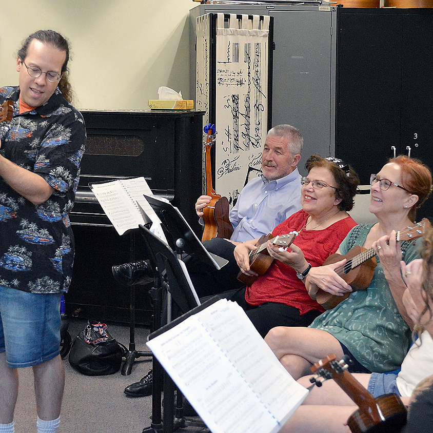 Ukulele's MuCCC'ing About: Workshop and Play-Along with Randy Pollok