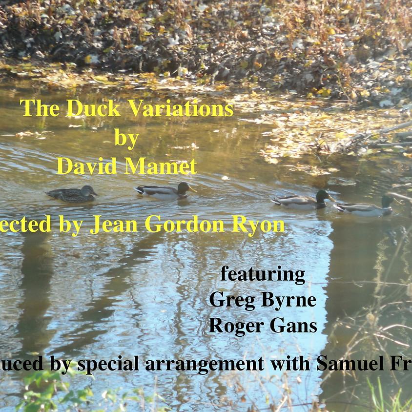 Gregor Nas Presents The Duck Variations By David Mamet