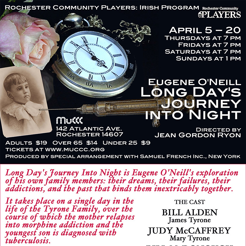 Irish Players of Rochester Community Players presents Long Day's Journey Into NIght