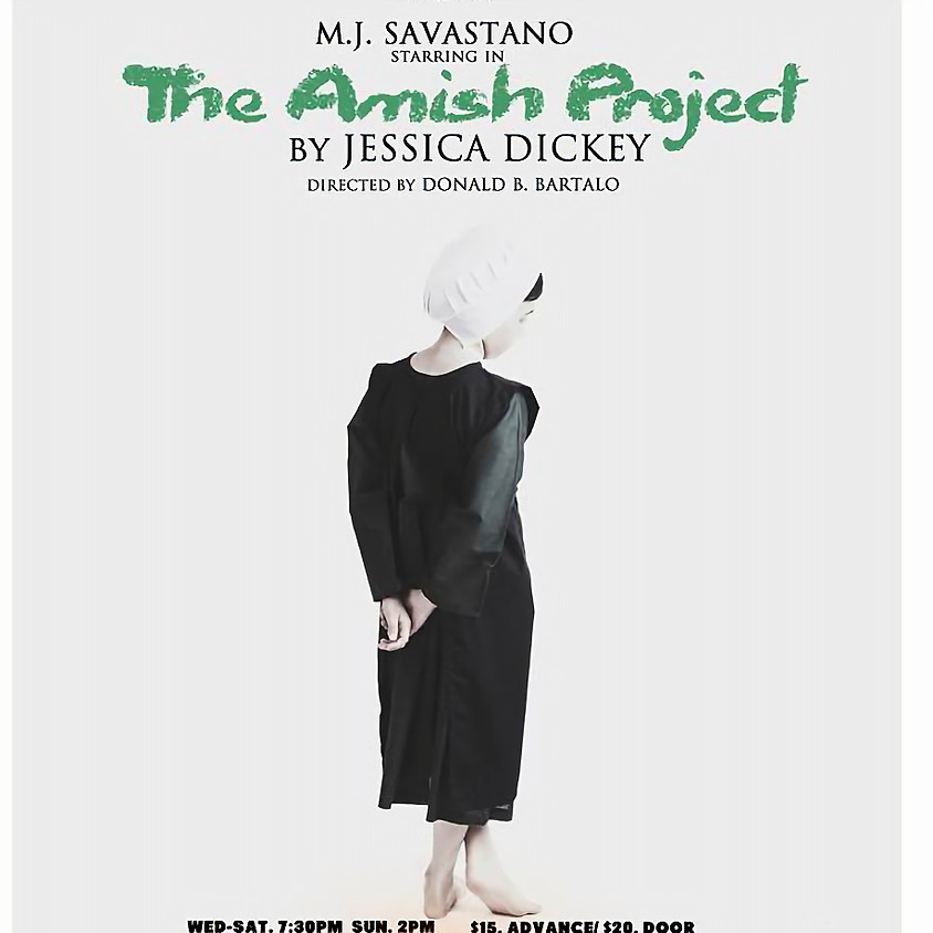 The Amish Project By Jessica Dickey