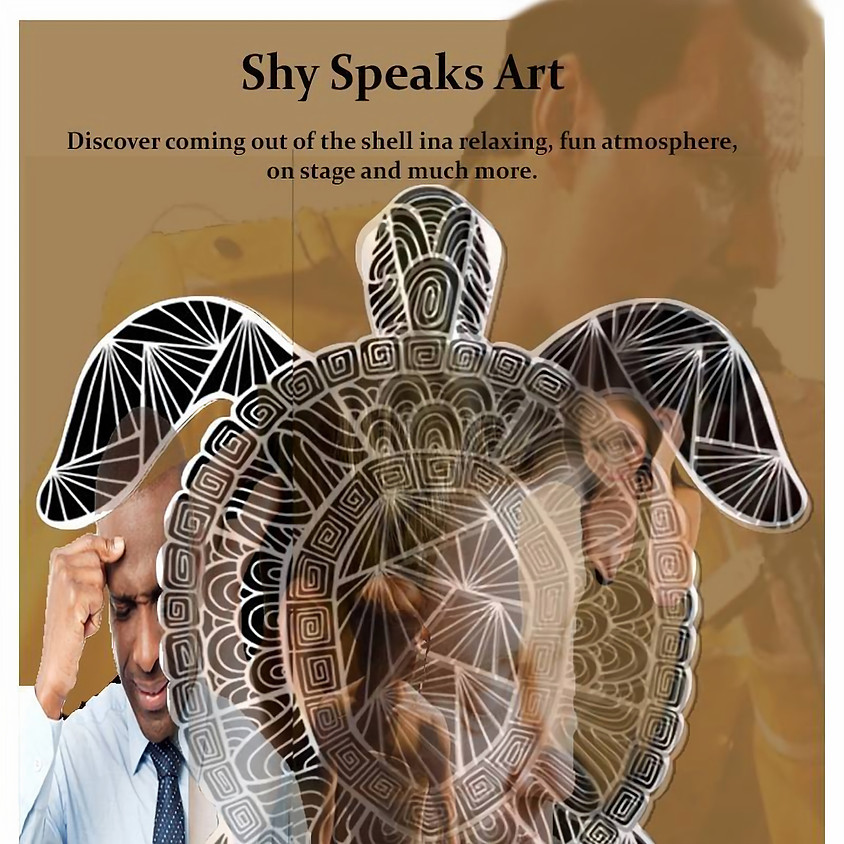 Shy Speaks Art – Stage, Poetry and more