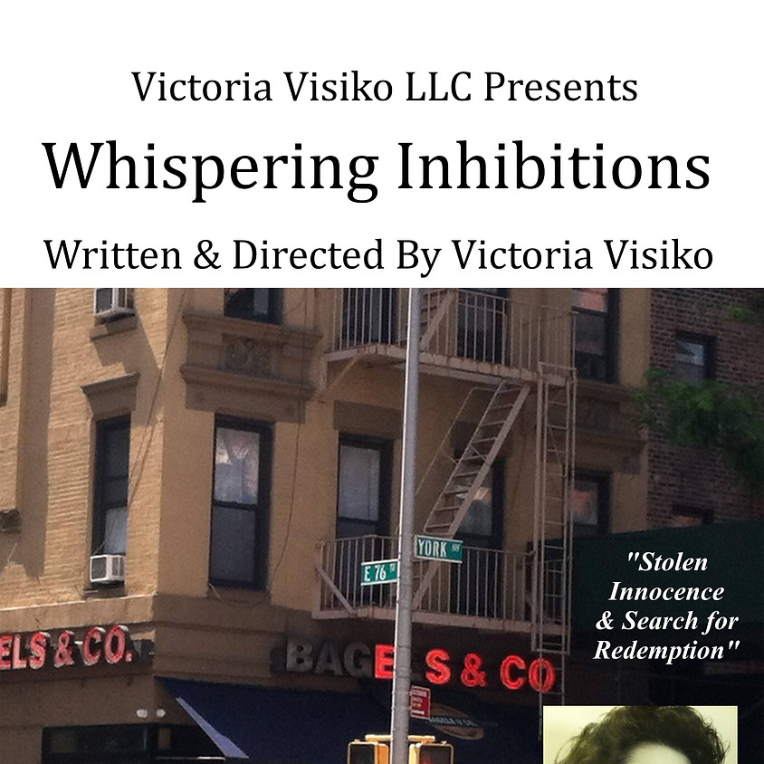 Victoria Visiko LLC Productions presents: Whispering Inhibitions