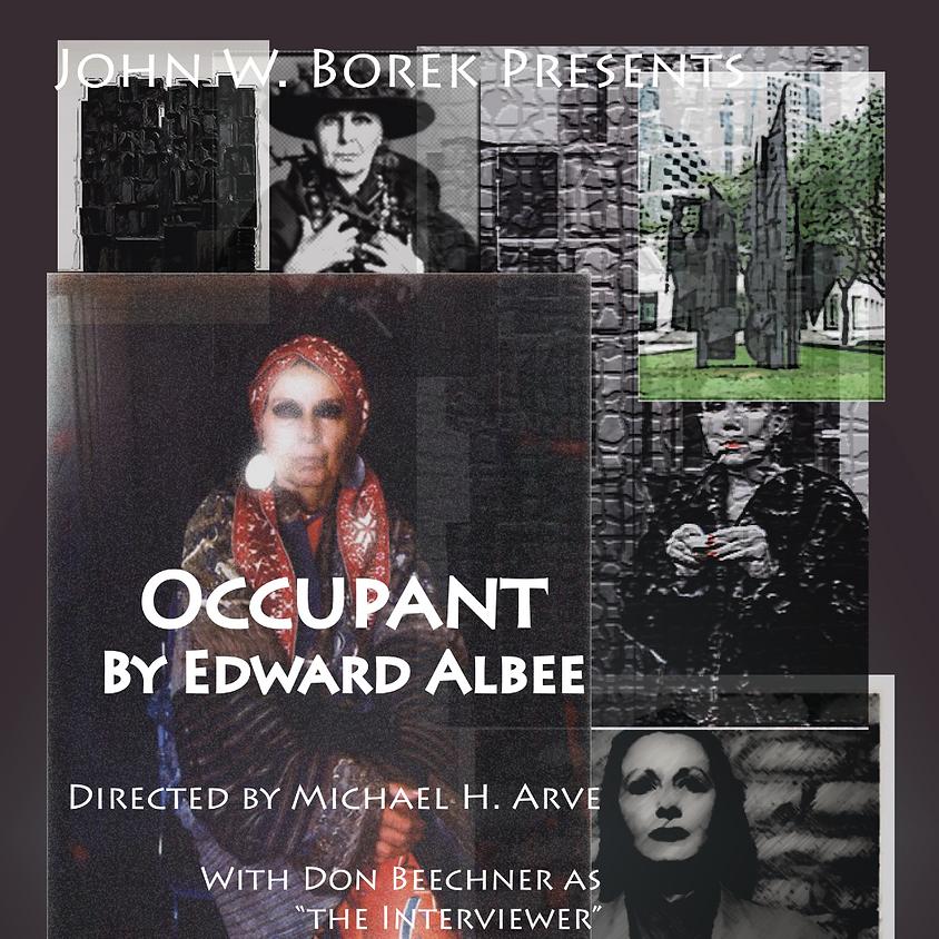 John W. Borek Presents: Occupant