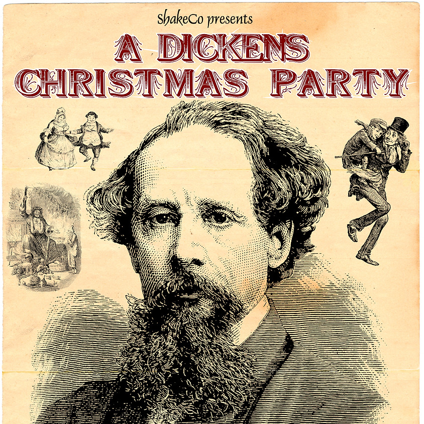 A Dickens Christmas Party By Charles Dickens, et. al.