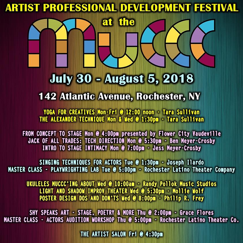 Artist Professional Development Festival at MuCCC