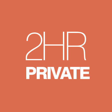 CLASSIC: PRIVATE SESSION - 2 HOUR