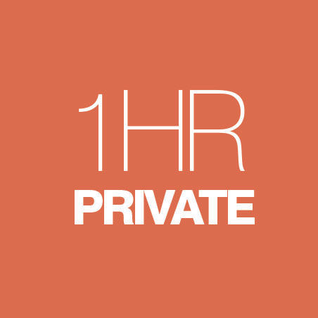 CLASSIC: PRIVATE SESSION - 1 HOUR