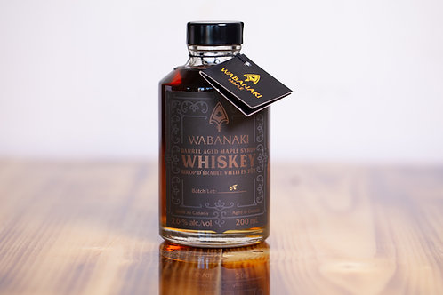 Sirop vieilli au Whiskey - Wabanaki - 200ml