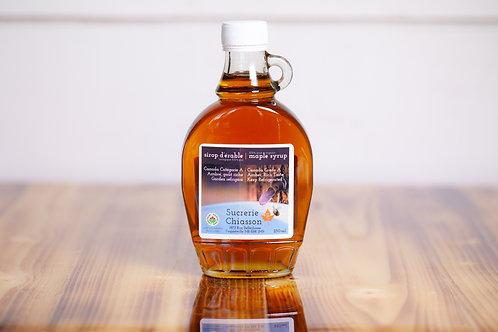 Sirop d'érable Biologique - 250ml - Sucrerie Chiasson