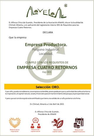 AlVelAl pone en marcha la primera homologación de empresas sostenibles y regeneradoras del paisaje