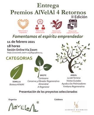 AlVelAl entrega nueve premios a ideas de negocio sostenibles