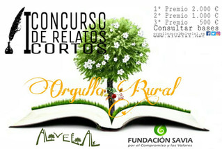 AlVelAl y Fundación Savia lanzan el I Concurso de Relatos Cortos 'Orgullo Rural'