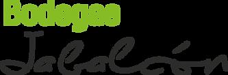 Logo 2018, Bodegas Jabalcon, texto negro