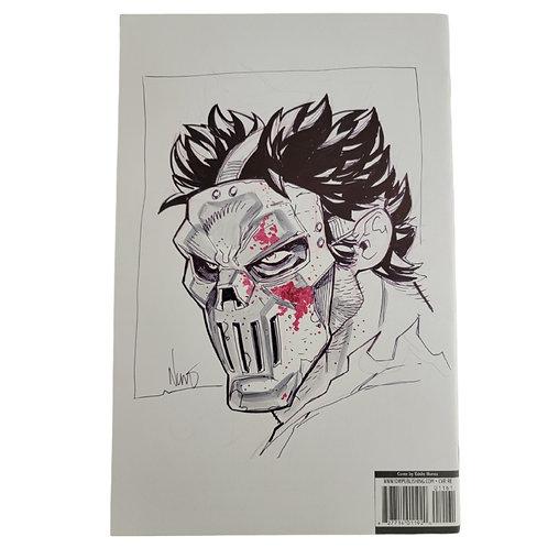 Batman TMNT #1 Eddie Nuñez