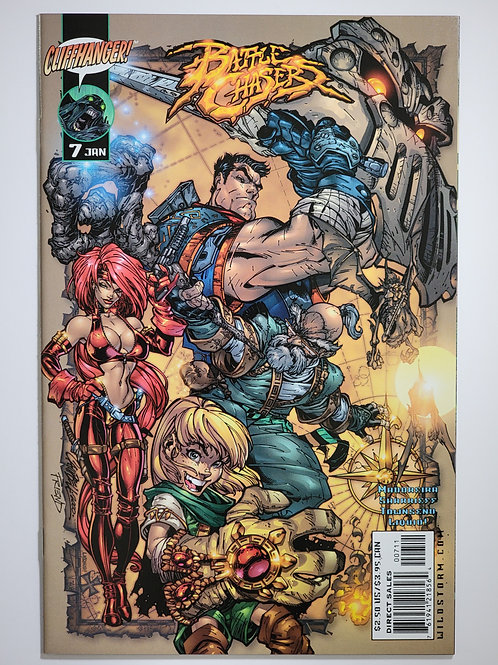 Battle Chasers #7 (Campbell)