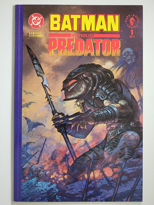 Batman versus Predator #1