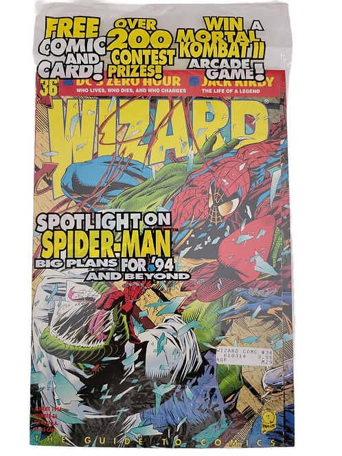 Wizard The Guide To Comics #36