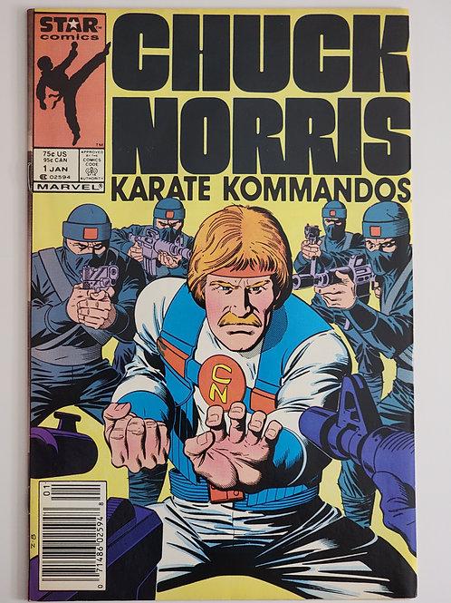 Chuck Norris Karate Kommandos #1 (1st Chuck Norris)