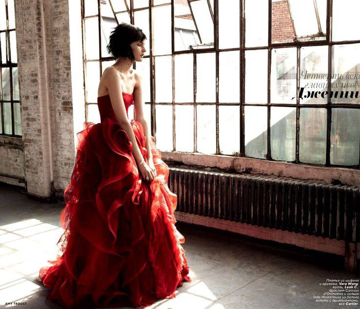 """Vogue Russia """"Brides"""" December 2012 Edition"""