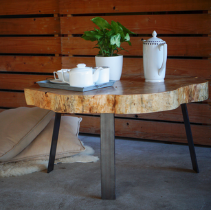 Maple coffee table to sit back and relax.