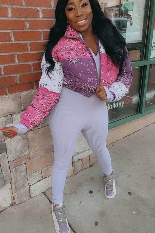 Bandana Bubble Jacket
