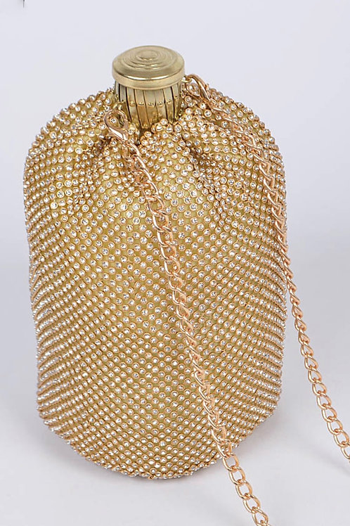 Drink Bedazzled Clutch