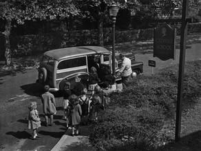 Mr. Perry's School Bus - Kittie Frick Beyer '48
