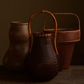 Japanese bamboo baskets by Kosugue Kogetsu and Tanabe Chikuunsai II.jpg