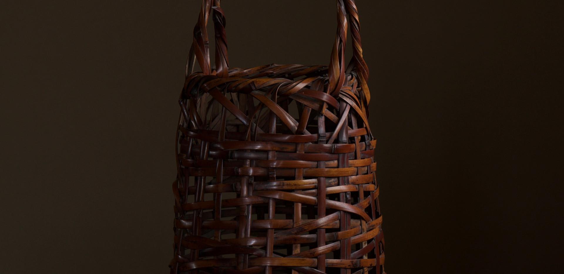 Wada Waichisai I Bamboo flower basket 02.jpg