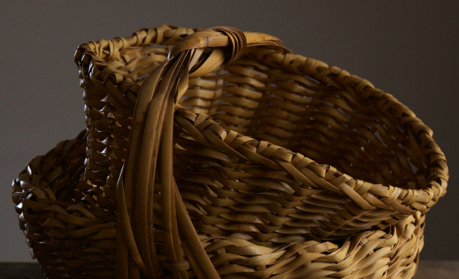 Folded basket by Iizuka Shokansai 01.jpg