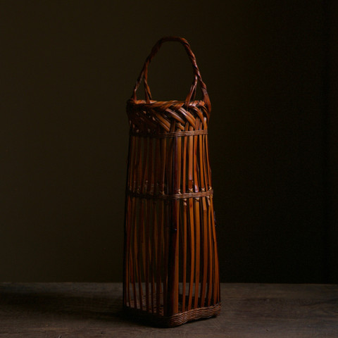 Bamboo Fence Flower Basket by Tanabe Chikuunsai II.jpg