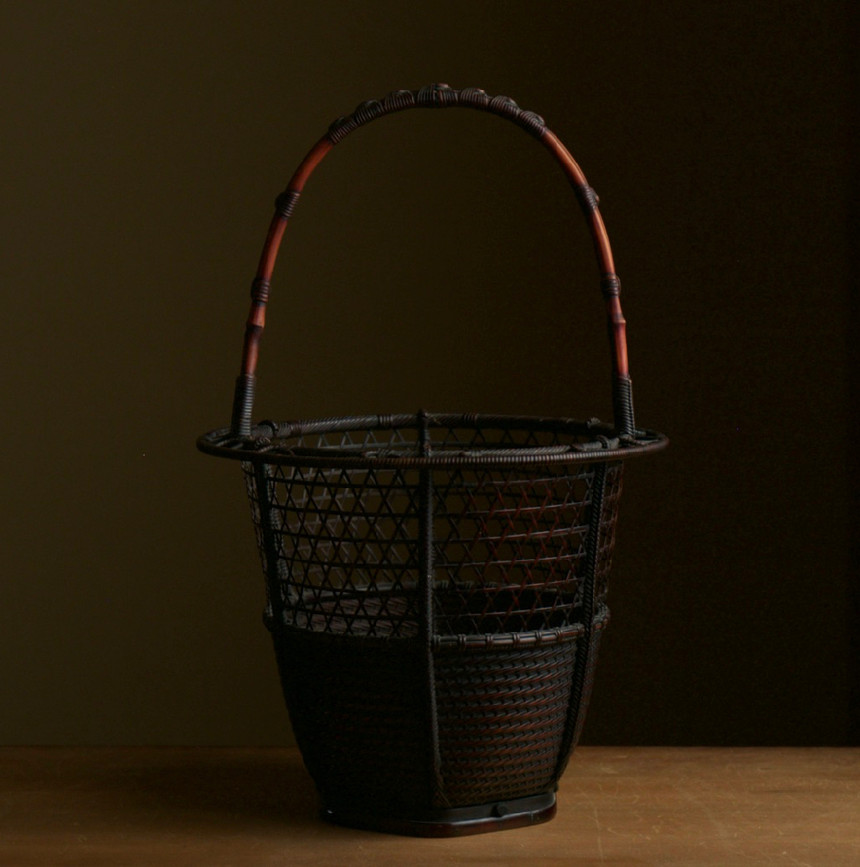 Ryuikyo style flower basket by Hosai 01.jpg