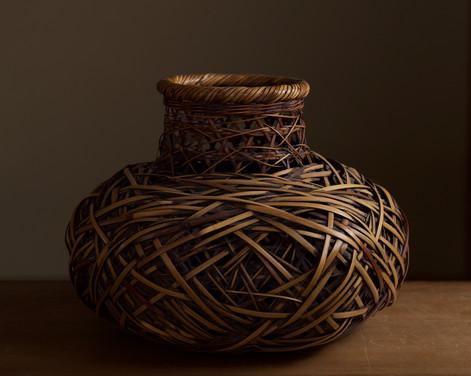 Bamboo flower basket by Kadota Niko.jpg
