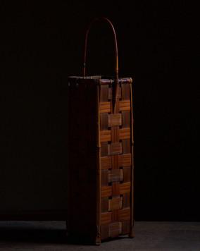 Unsigned Mingei Tall Flower Basket.jpg